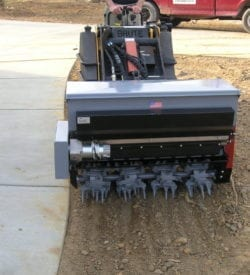 DO40 AERA-vator Mini Skid Steer