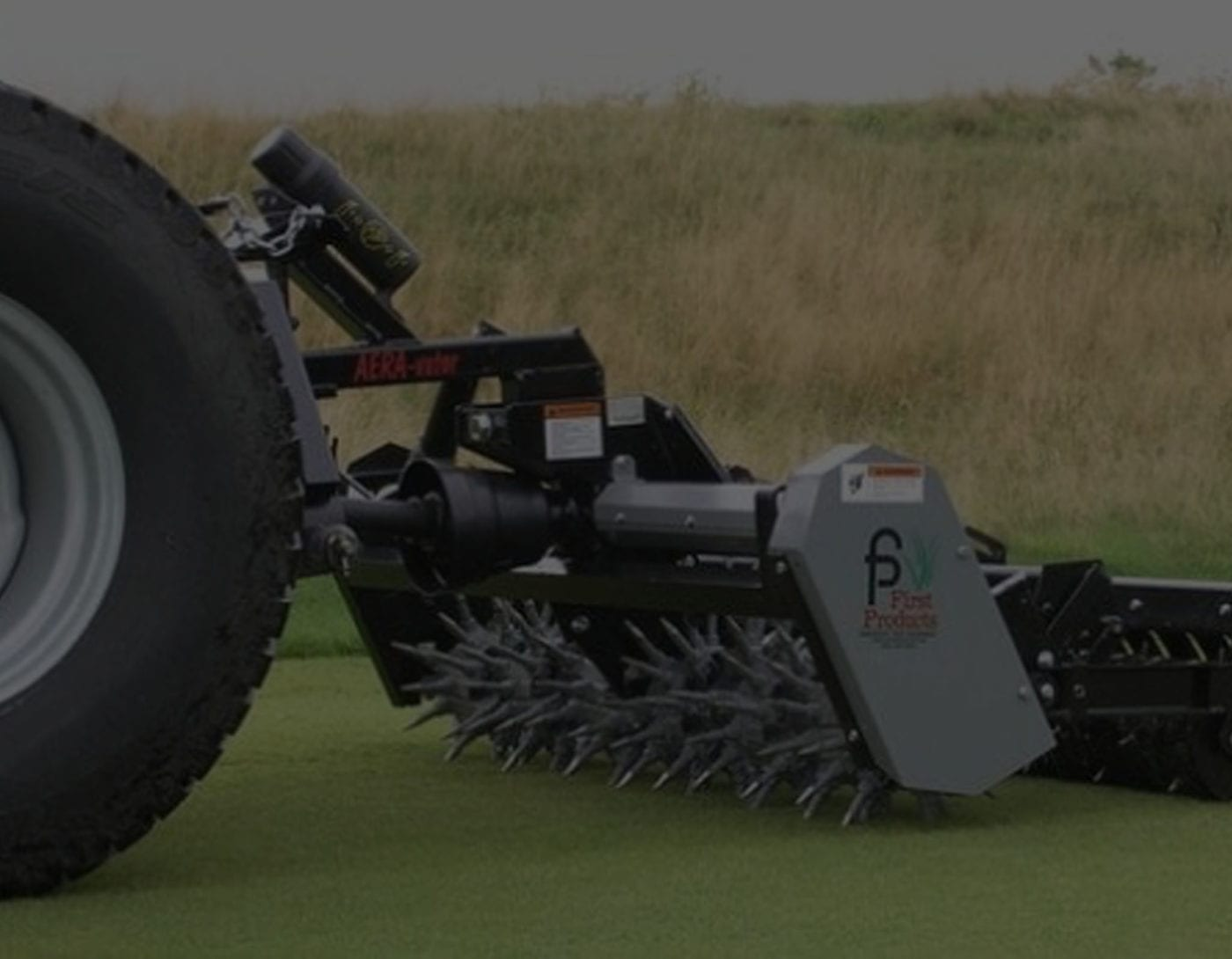 commercial turf aerator